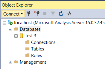 Empty Scripted Database From SSMS